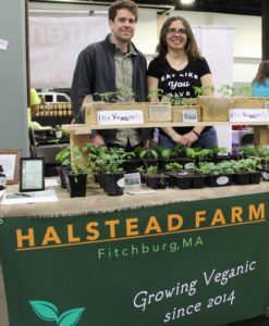 Evan and Eleonora at New England VegFest 2017